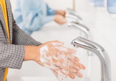 Viktigt med bra handhygien
